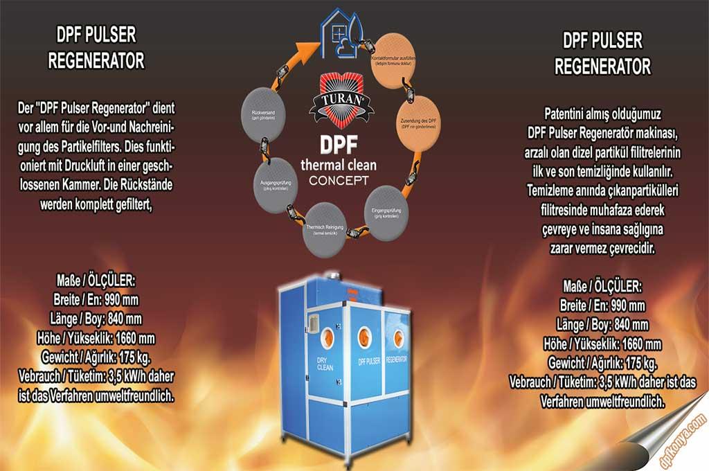 Dpf konya-Dpf Pulser Regenerator
